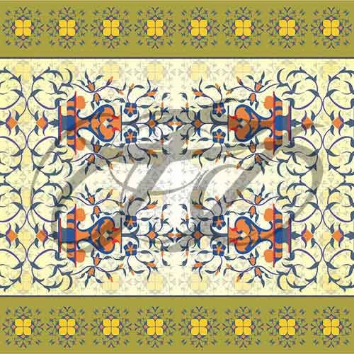 Fresco work at Lahore Fort 007