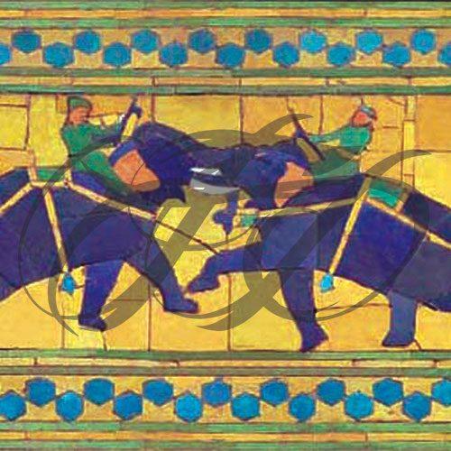 Elephant Fight 006