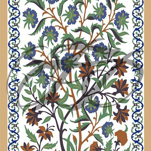 Fresco work of Mural from Shahi Qila 002