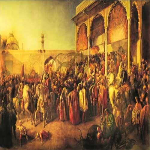 Ranjeet Singh Darbar at Lahore Fort 005