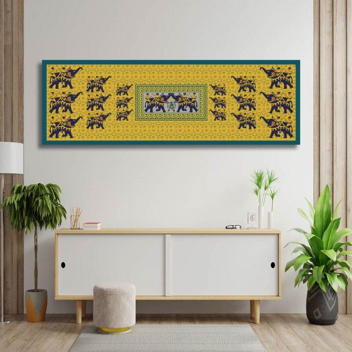 Elephants-Fight-Fariha's-Textile-Design-4th-Mockup-For-Web