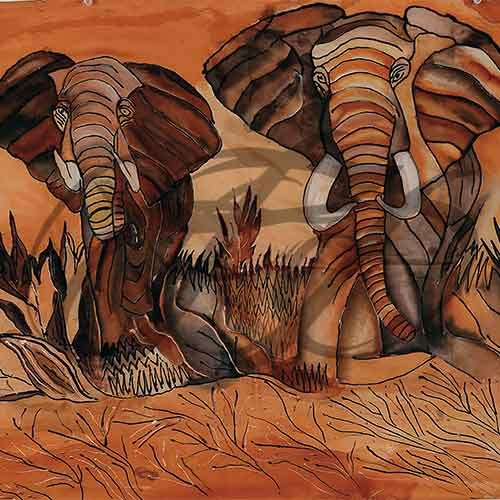 Elephants in Nairobi