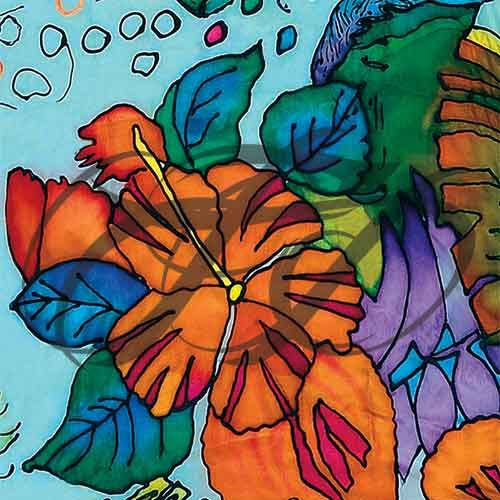 Floral Silk 005