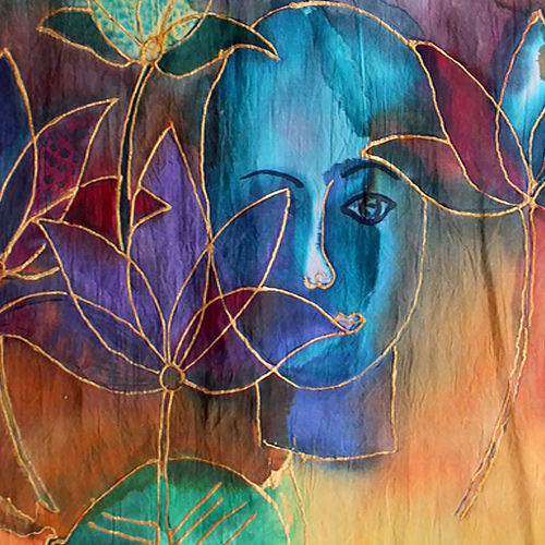 Lotus-With-a-Girl-Painting-Design-1st-Mockup-For-Web