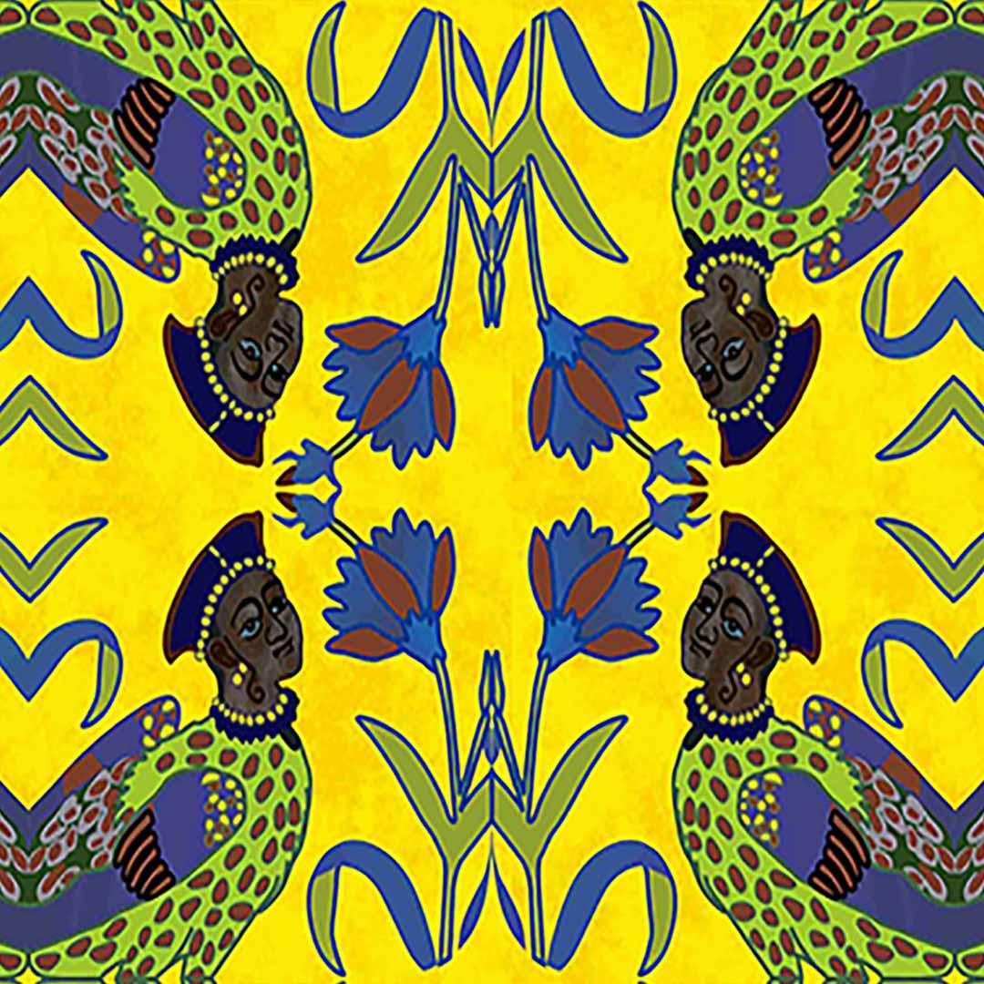 Yellow-Parrots-Fariha's-Textiles-2nd-Mockup-For-Web-Closeup