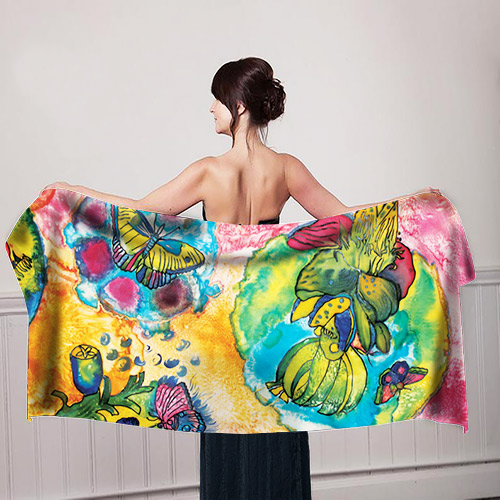 Butterfly-Design-Girl-with-scarf-mockup