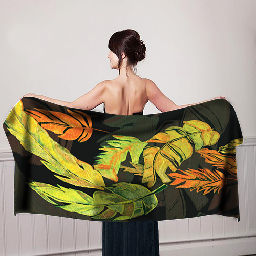 Feather-Leaf's-Design-Girl-with-scarf-mockup